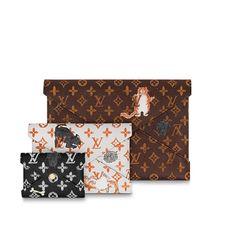 Клатч Kirigami Louis Vuitton