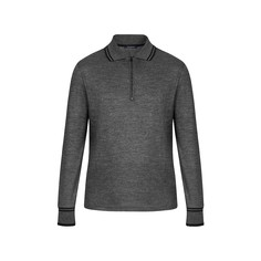 Рубашка-Поло На Молнии С Длинным Рукавом И Узором В Виде Цветов Monogram Louis Vuitton