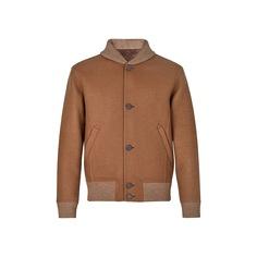 Двусторонняя Куртка Из Шерсти С Узором Monogram Louis Vuitton