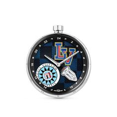 Настольные часы GMT Tambour World Tour Louis Vuitton