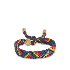 Кожаный браслет Friendship Louis Vuitton