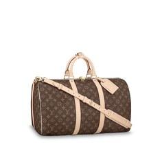 Keepall 50 с плечевым ремнем Louis Vuitton