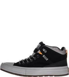 Высокие замшевые кеды на шнуровке Converse