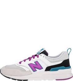 Кроссовки с яркими вставками 997 New Balance