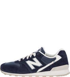 Синие замшевые кроссовки 996 New Balance