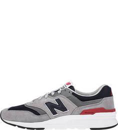 Замшевые кроссовки серого цвета 997H New Balance