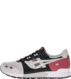Замшевые серые кроссовки на шнуровке Gel-Lyte Asics