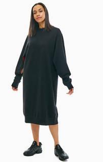 Платье-свитшот с вырезами по бокам Cheap Monday