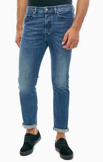 Зауженные джинсы с заломами Buster Diesel
