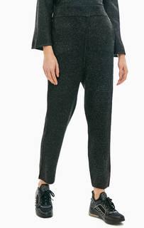 Трикотажные брюки с подкладкой из вискозы Patrizia Pepe
