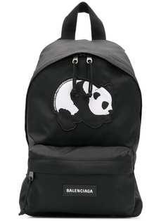 Balenciaga рюкзак Explorer S с изображением панды