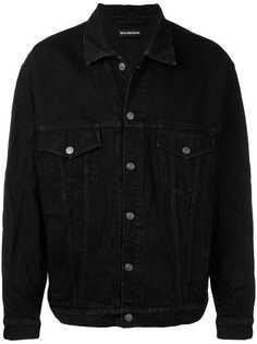 Balenciaga джинсовая куртка в стиле оверсайз