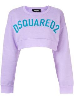 Dsquared2 укороченная толстовка с логотипом