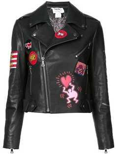 Alice+Olivia байкерская куртка Cody