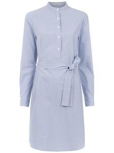 Egrey платье-рубашка в полоску