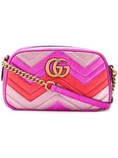 Gucci прямоугольная сумка GG Marmont