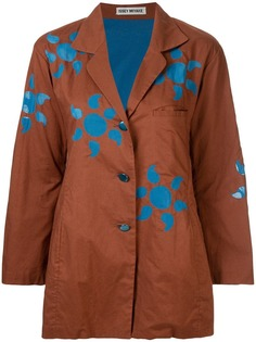 Issey Miyake Vintage куртка свободного кроя с принтом солнца