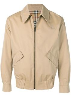 Burberry двусторонняя габардиновая куртка Harrington