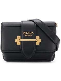 Prada классическая поясная сумка с логотипом