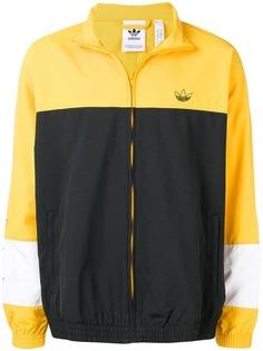 Adidas куртка-бомбер со вставками