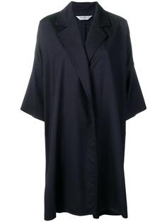 Max Mara пальто свободного кроя без застежки