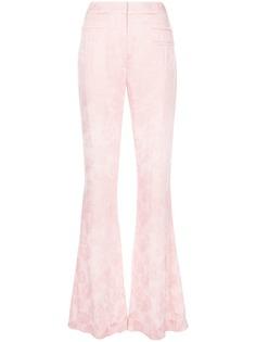 Rejina Pyo жаккардовые расклешенные брюки