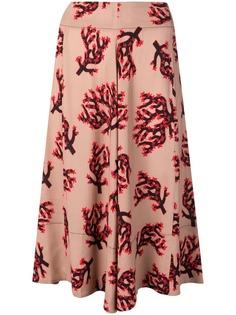 Marni юбка с принтом