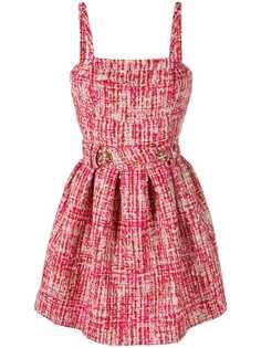 Philipp Plein твидовое платье-мини