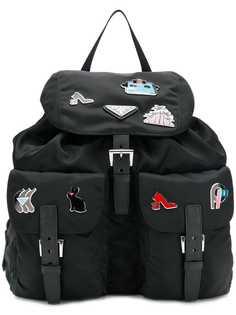 Prada рюкзак с булавками
