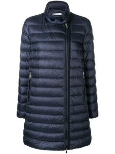 Moncler пальто-пуховик на молнии