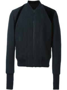 Alexander McQueen фактурная куртка бомбер