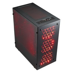 Компьютер IRU Home 227, AMD Ryzen 7 1700, DDR4 8Гб, 1000Гб, 120Гб(SSD), NVIDIA GeForce GTX1050Ti - 4096 Мб, Windows 10 Home, черный [1101203]