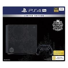 Игровая консоль SONY PlayStation 4 Pro с 1 ТБ памяти, игрой Kingdom Hearts III, CUH-7208B, черный