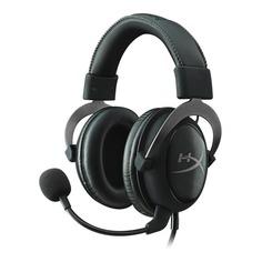 Игровая гарнитура HYPERX Cloud II Gun Metal, мониторы, черный / серый [khx-hscp-gm]