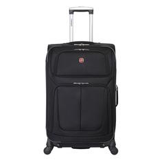 Чемодан Wenger Sion черный WGR6283202171 41x70x26см 56л. 4.36кг.