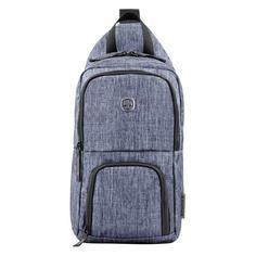 Рюкзак Wenger 605031 синий 19x33x12см 8л. 0.3кг.