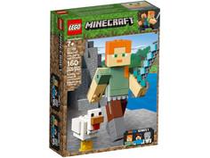 Конструктор Lego Minecraft Алекс с цыплёнком 160 дет. 21149