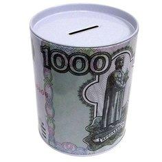 Копилка для денег Эврика Банка 1000 руб 92375 Evrika