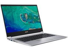 Ноутбук Acer Swift 3 SF314-55-304P Silver NX.H3WER.012 (Intel Core i3-8145U 2.1 GHz/8192Mb/256Gb SSD/Intel UHD Graphics 620/Wi-Fi/Bluetooth/Cam/14.0/1920x1080/Linux)