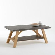 Столик журнальный со столешницами с отделкой под бетон, Concrite La Redoute Interieurs