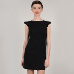 Платье короткое с воланами на плечах и завязками сзади Molly Bracken
