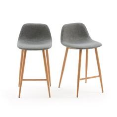 Комплект из 2 барных стульев La Redoute