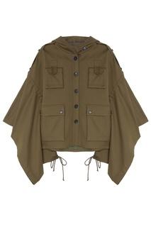 Детская куртка цвета хаки Ruban Kids