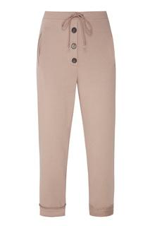 Серые хлопковые брюки Ruban