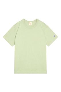 Светло-зеленая футболка Champion