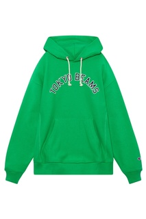 Зеленое худи Champion x Beams