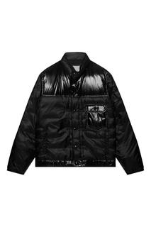 Черная куртка-пуховик Poulsen Moncler