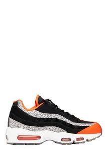 Оранжево-черные кроссовки Air Max 95 (AV7014-002) Nike