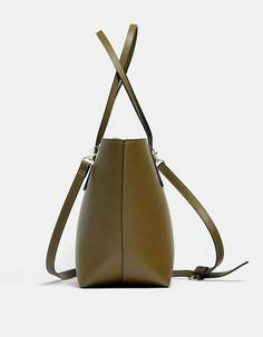 Stradivarius Базовая сумка-шопер в формате мини ЖЕНСКАЯ КОЛЛЕКЦИЯ 103