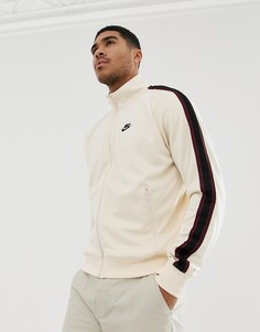 Бежевая куртка Nike 98 Tribute - Бежевый